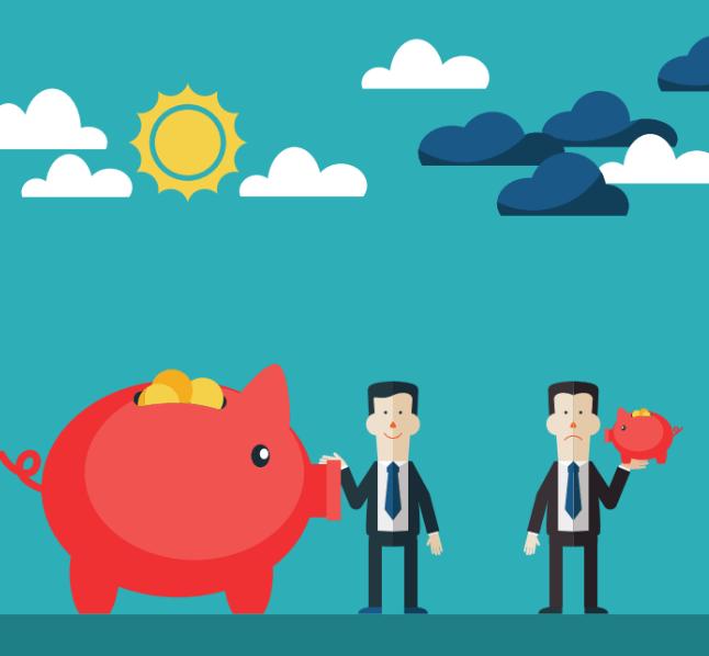larger pension vs smaller pension