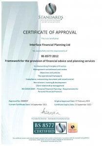 Standards International Certificate