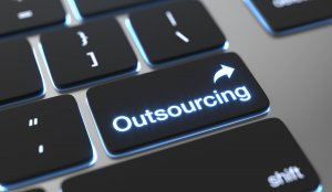 Outsourcing text on keyboard button.